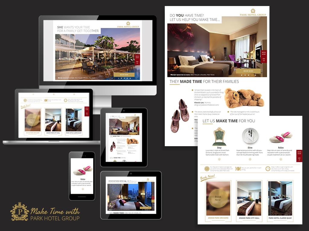 Social Media - Facebook Marketing for Park Hotel Group
