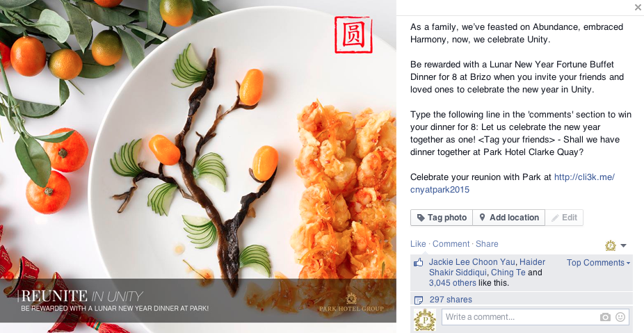 Chinese New Year Social Media Campaign