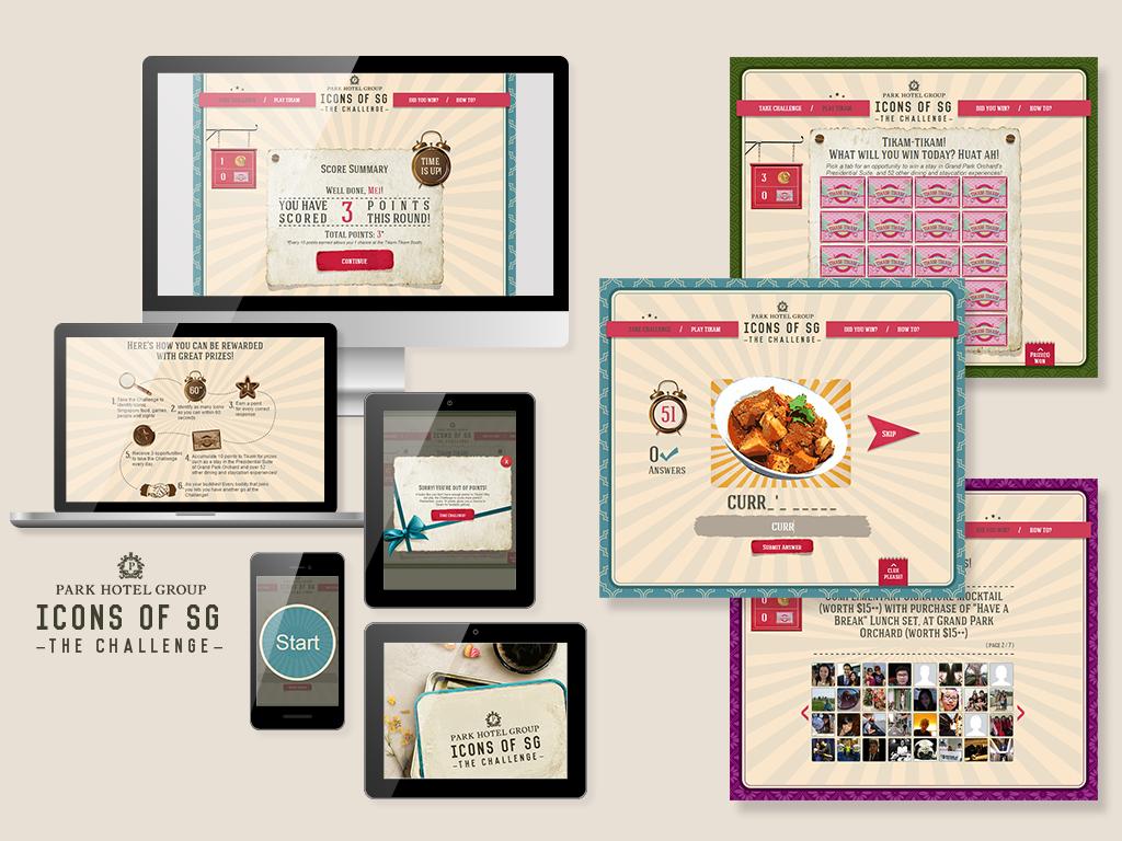 Icons of SG - Park Hotel Group Social Media Marketing